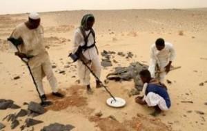 chercheurs d'or en Afrique