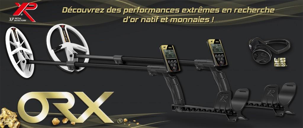 XP ORX , le détecteur ultra léger