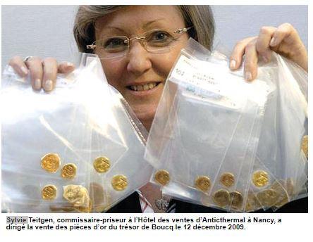 pièces d'or de Boucq