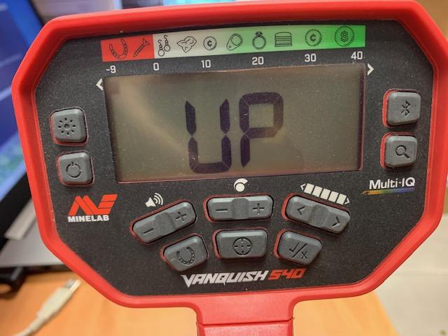 Mettre a jour le Vanquish 340/440/540