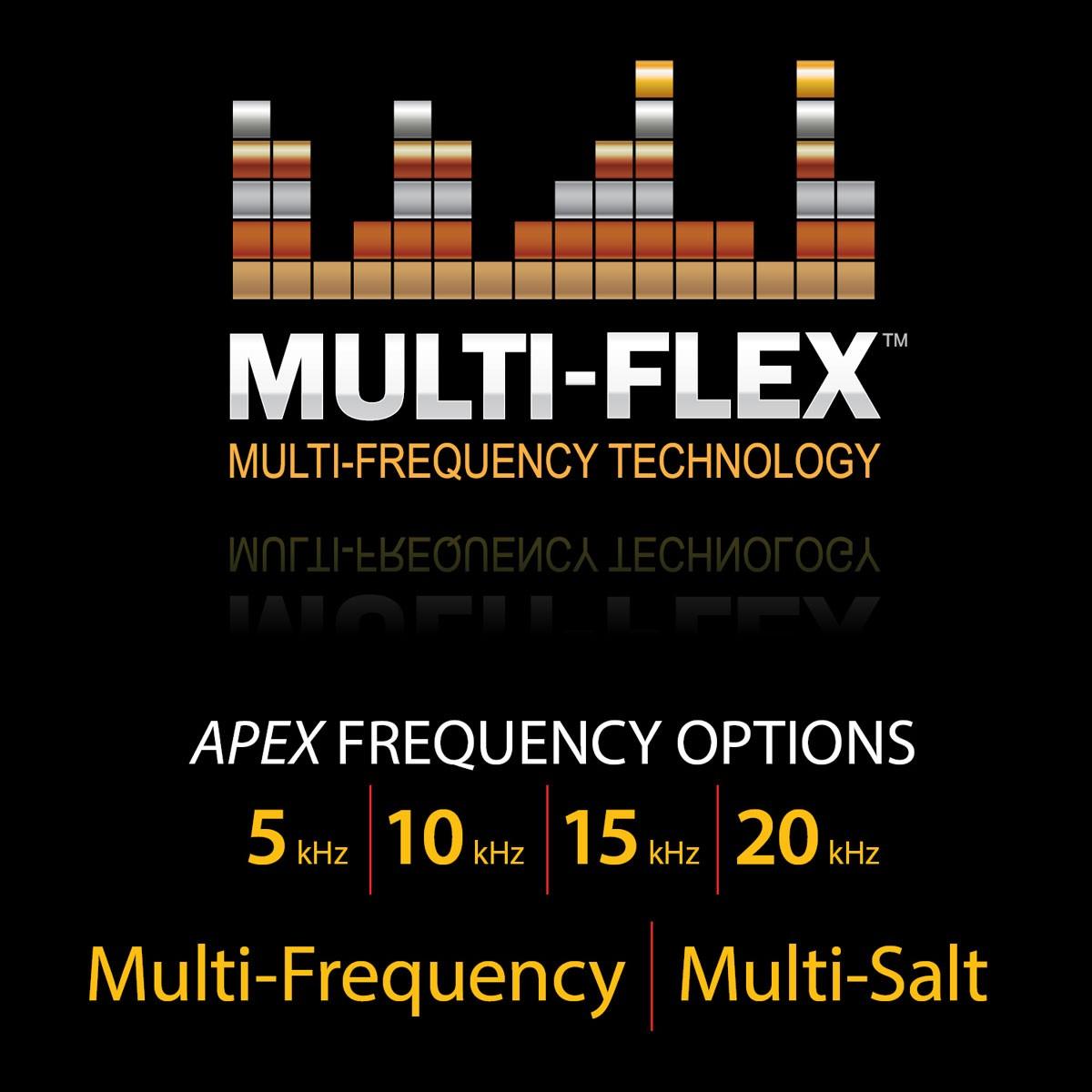 multi-flex GARRETT ( multifréquences )
